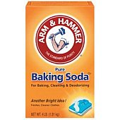 pictureof baking soda to prevent odourinlitter box
