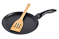 picture of afrying pan and spatula