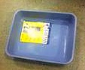 picture of a  open litter box