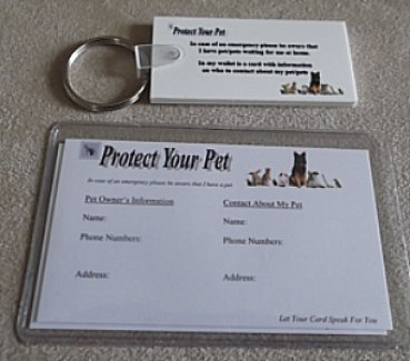 Protect  Your Pet Card