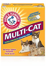 picture of arm and hammer cat litter for cat odor